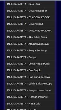 Lagu Lagu Dangdut INUL DARATISTA - Mp3 screenshot 9
