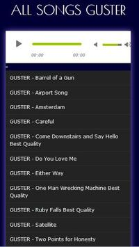 Top GUSTER Song Collection apk screenshot