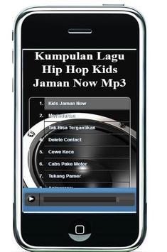 Kumpulan Lagu Hip Hop Kids Jaman Now Mp3 captura de pantalla 4