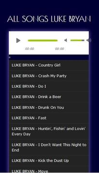 Kumpulan Lagu Hits LUKE BRYAN - Mp3 screenshot 4