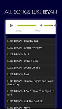Kumpulan Lagu Hits LUKE BRYAN - Mp3 screenshot 6