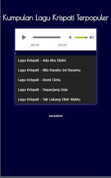 Kumpulan Lagu Krispati Terpopuler apk screenshot