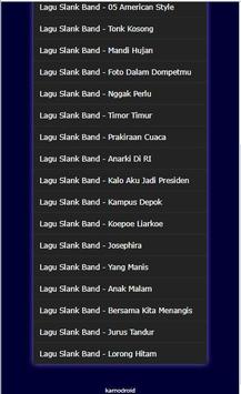 Kumpulan Lagu Slank Band Hits screenshot 11