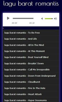 Kumpulan lagu barat romantis screenshot 6
