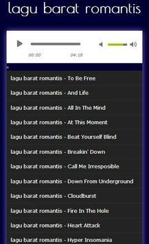 Kumpulan lagu barat romantis screenshot 2