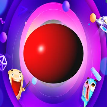 Red Ball Bounce poster