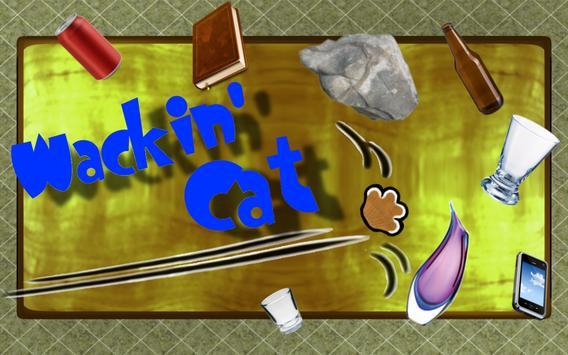 Wackin' Cat FREE poster