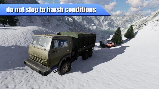 KAMAZ Racing Russian Road apk screenshot
