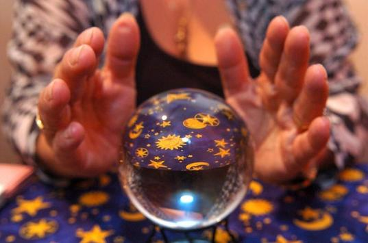 Crystal ball Fortune Teller for Free Real poster