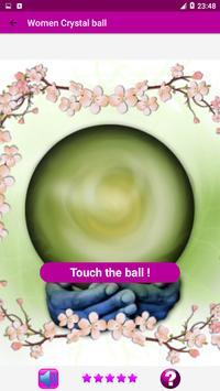 Women Crystal ball - Real Fortune teller & Tarot screenshot 1