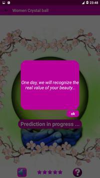 Women Crystal ball - Real Fortune teller & Tarot screenshot 2