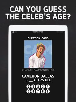Tuber Guess the Age Challenge screenshot 12