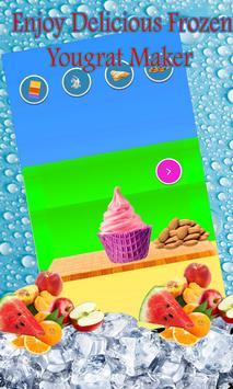 Delicious Frozen Yougrat Maker screenshot 4
