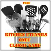 Kitchen Utensils Onet Game icon