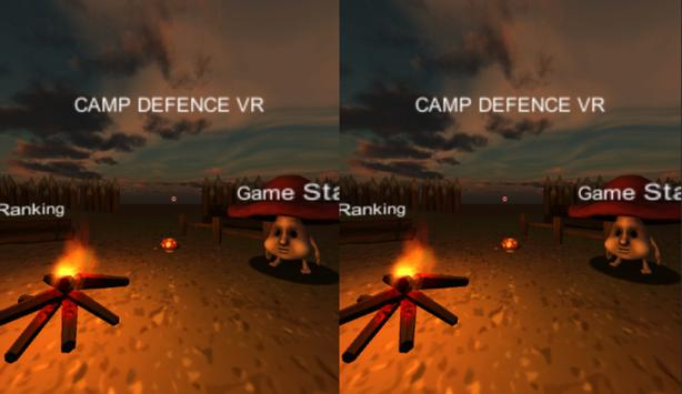 CAMP DEFENCE VR with Mojing poster