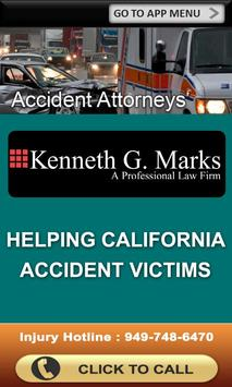Kenneth G. Marks Accident App poster