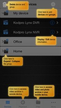 Kodpro VMS Pro apk screenshot
