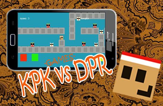 KPK VS DPR poster