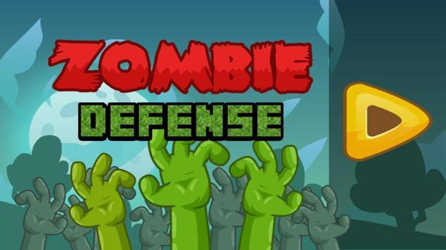 Zombie Defense poster