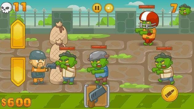 Zombie Defense screenshot 1