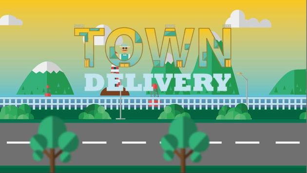 TOWN DELIVERY - CASUAL SIMULATION DELIVERY GAME poster