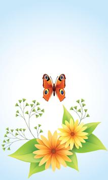 Butterfly Screen Lock screenshot 1