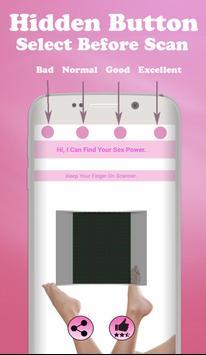 Sex Power Scanner Prank poster