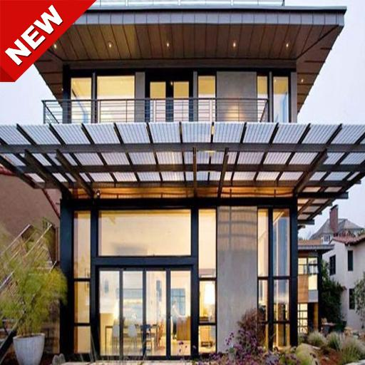 The design of the front canopy of the house for Android - APK Download