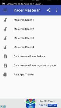 Kacer Masteran apk screenshot