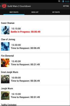 Guild Wars 2 Countdown screenshot 1