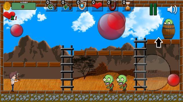Bubble Zombie (Pang) 💣 screenshot 2