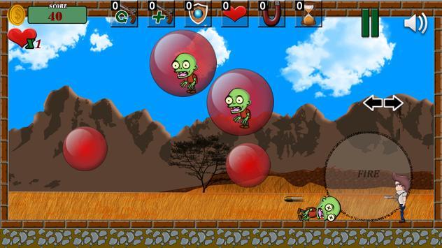 Bubble Zombie (Pang) 💣 screenshot 4