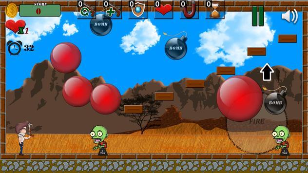 Bubble Zombie (Pang) 💣 screenshot 5