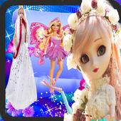 Princes Barbie Doll icon