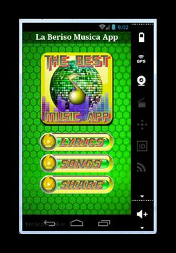 La Beriso Cancion Madrugada screenshot 1