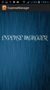 ExpenseManager poster