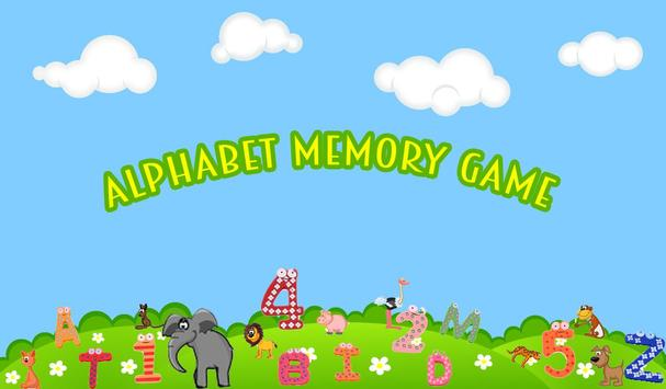 Alphabet Memory Game apk screenshot
