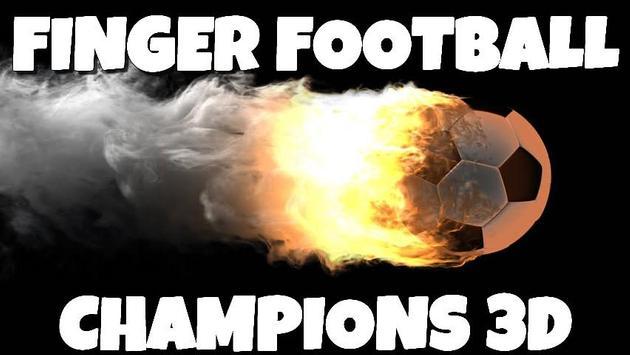 Finger Football Champions 3D poster