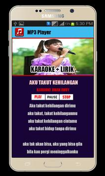 Karaoke + Lirik Jihan Audy screenshot 1