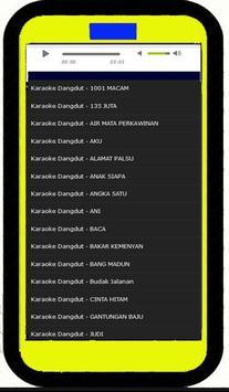 Dangdut Karaokean Asik apk screenshot