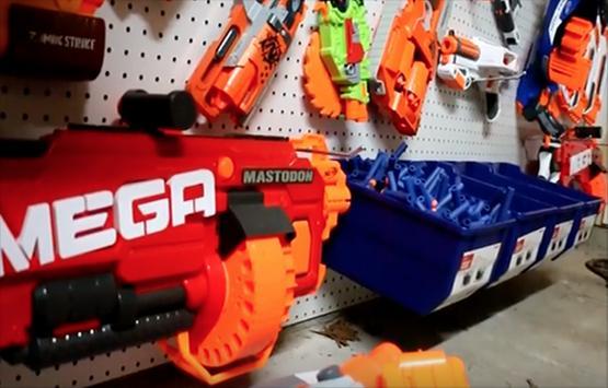 Gun vs. Gun - Night Vision Nerf Goggles (Foam Film)
