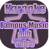 Karaoke Song Video - Music Video Famous👍👍😘 icon