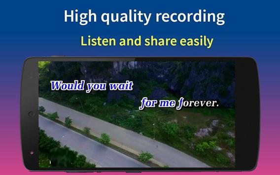 Karaoke Song Video - Music Video Famous👍👍😘 apk screenshot