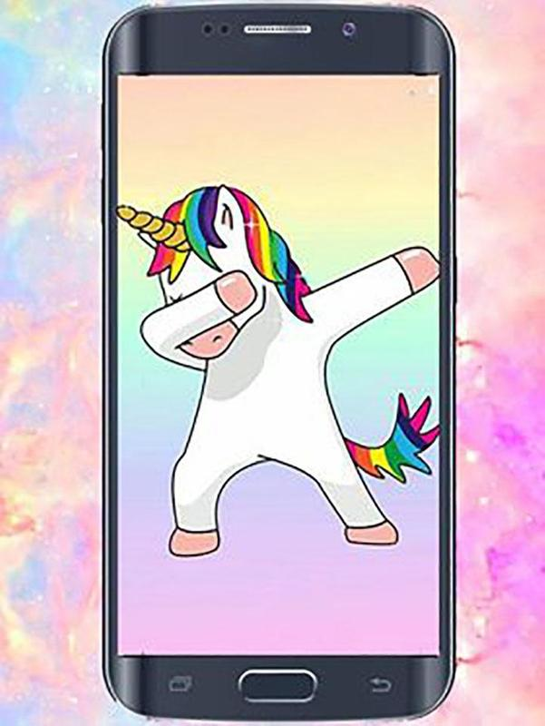 Cute Kawaii Unicorn Wallpapers Poster Screenshot 1