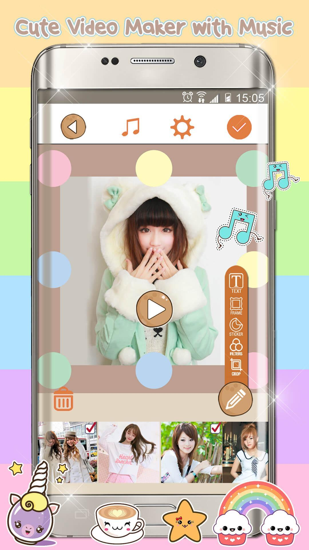 Kawaii Video Editor for Android - APK Download