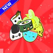 kawaii Food wallpapers icon