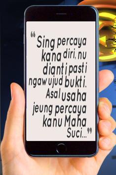 Kata - Kata Bijak Bahasa Sunda Terbaru screenshot 4