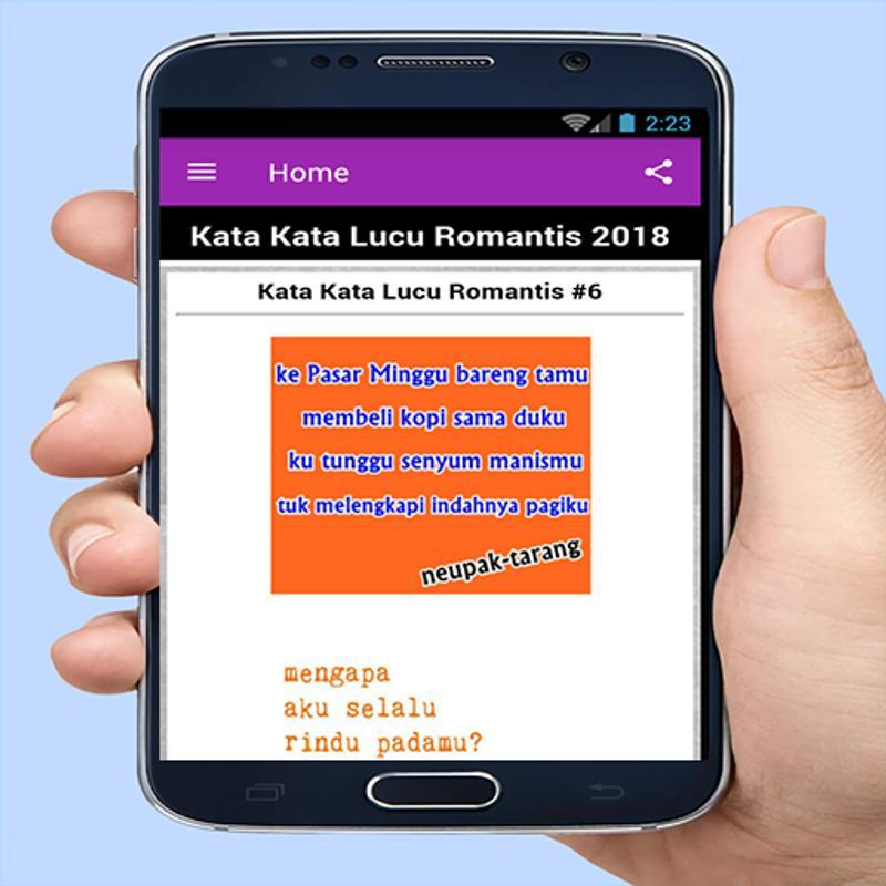 Kata Kata Lucu Romantis 2018 For Android Apk Download