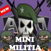 Game Doodle Army 2 Mini Militia Cheats icon