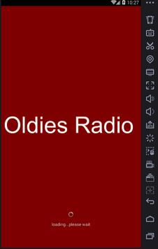 50 60 and 70 Oldies Radio poster